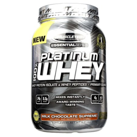 Platinum 100% Whey Isolate 2lbs (907g) - MuscleTech