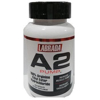 A2 Pump 100% Arginine Chelate! (120 caps) - Labrada
