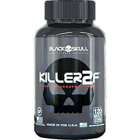 KILLER 2F (120 caps) - Black Skull ( VALIDADE 30-08-18 )