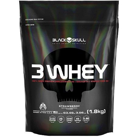 3 Whey Protein (1,8 kg) - Black Skull