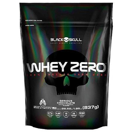 Whey Zero (837g) Refil - Black Skull