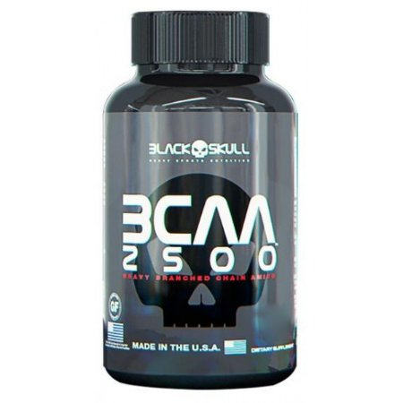 BCAA 2500 (60 CAPS) - BLACK SKULL