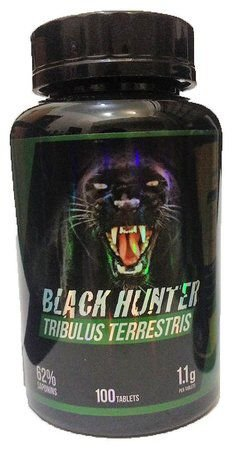 Tribulus Terrestris - 1.100mg - (100 Cáps) - Black Hunter