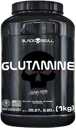 L-GLUTAMINE (1KG) - BLACK SKULL