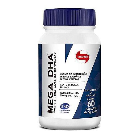 Ômega 3 Mega DHA (60 Capsulas) - Vitafor