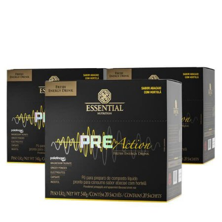 Pre-Action – Essential Nutrition (540g)