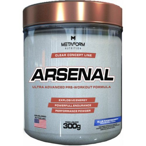 ARSENAL (300G) - METAFORM NUTRITION