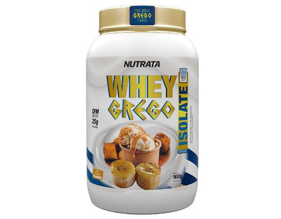 Whey Grego ISOLATE (900g) - Nutrata