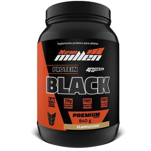 PROTEIN BLACK 4W (840G)  - NEW MILLEN