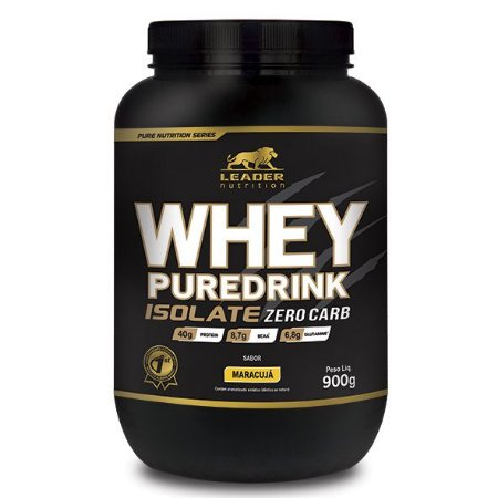 Whey Pure Drink Isolate ZERO CARB 900g – Leader Nutrition