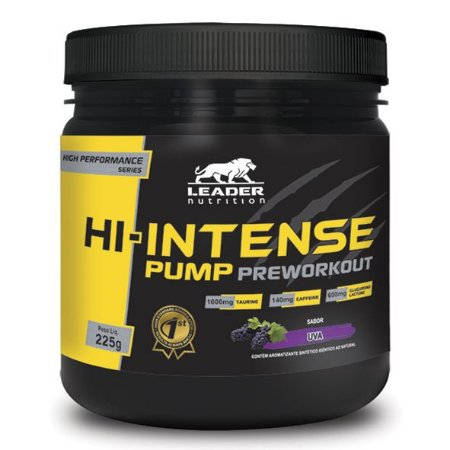 HI-INTENSE PUMP PREWORKOUT - LEADER  NUTRITION