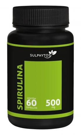 Spirulina 500mg 60 Cápsulas - Sulphytos