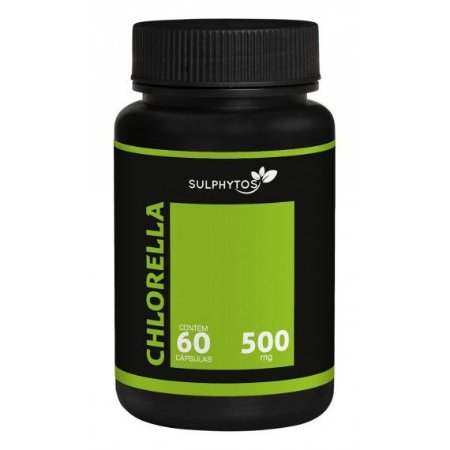 Chlorella 500mg 60 Cápsulas - Sulphytos