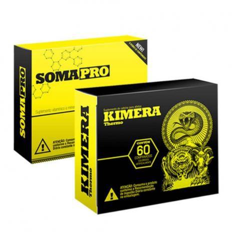 COMBO  DEFINIÇÃO (KIMERA 60 CAPS) + ( SOMA PRO 30 CAPS) - IRIDIUM LABS