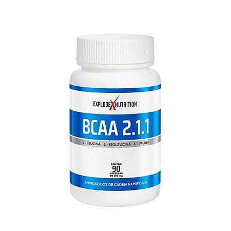 EXPLODE BCAA 2.1.1 (90 CAPS) - EXPLODE NUTRITION