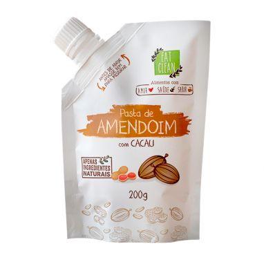SAQUINHO PASTA DE AMENDOIM COM CACAU (200G) - EAT CLEAN