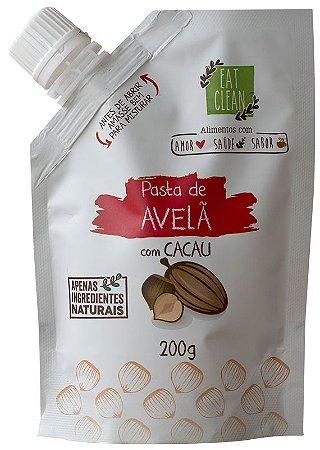 SAQUINHO PASTA DE AVELÃ COM CACAU (200G) - EAT CLEAN