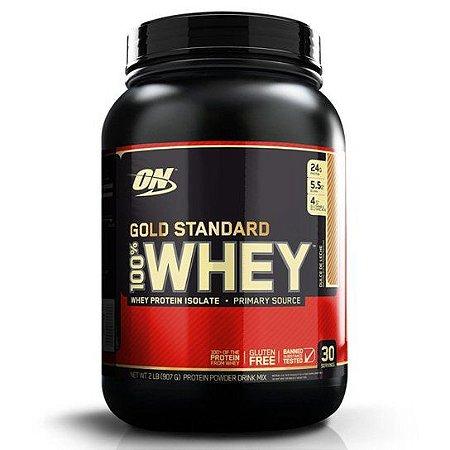 100% Whey Gold Standard (2lb - 909g) - Optimum Nutrition