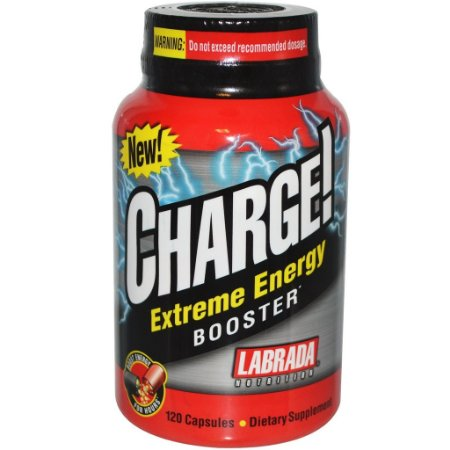 CHARGE EXTREME ENERGY BOOSTER (120 CAPS) - LABRADA NUTRITION