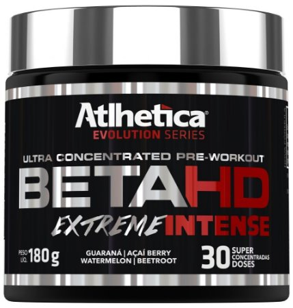 Beta HD suplemento 180g extreme intense -  Atlhetica Evolution