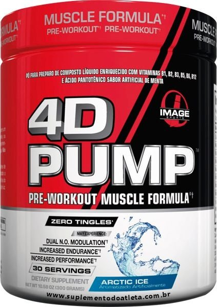 4D Pump - 300g Artic Ice - IMAGE SPORTS
