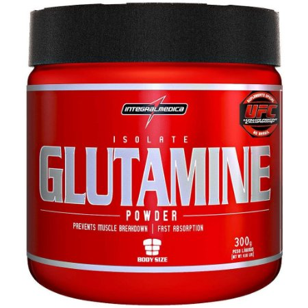 Isolate Glutamine (300g) - integralmedica