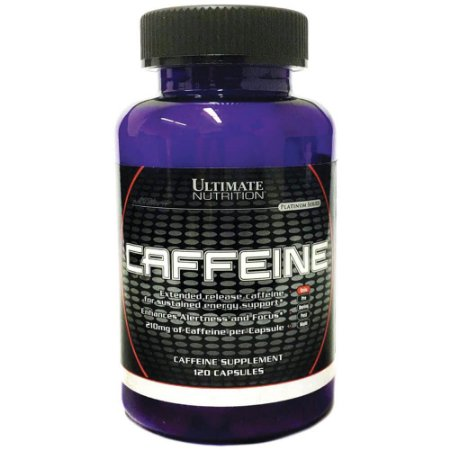 Caffeine 210mg (120 caps) - Ultimate Nutrition