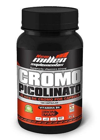 Picolinato de Cromo (100caps) - new millen