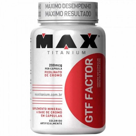 Cromo GTF Factor (100 caps) - max titanium