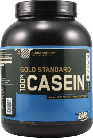 Caseina 4 lbs (1818g) - optimum nutrition