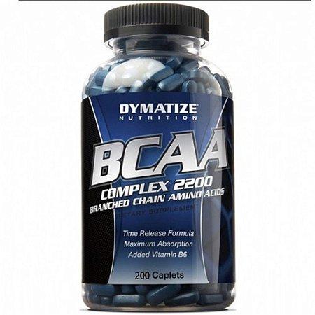 BCAA Complex 2200 (200 caps) - Dymatize