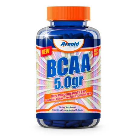 BCAA 5.0g - 120 Tabs - Arnold Nutrition
