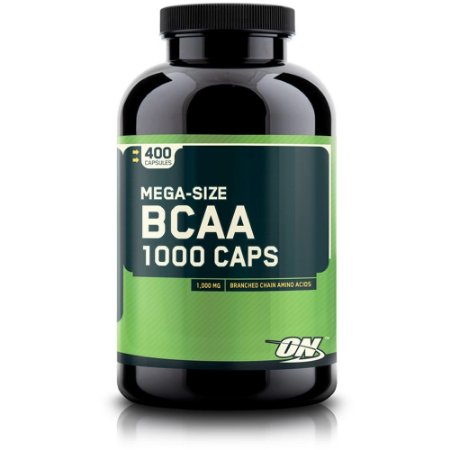 BCAA 1000 (400 caps) - Optimum Nutrition