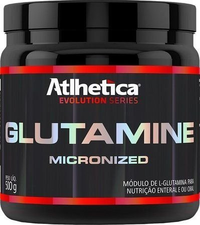 Glutamina Micronized (500g)  - Atlhetica