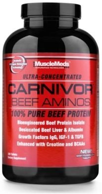 carnivor beef amino (270 CAPS) - MUSCLEMEDS