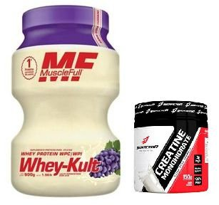 Whey Kult - MuscleFull + Creatine Monohydrate - Bodyaction