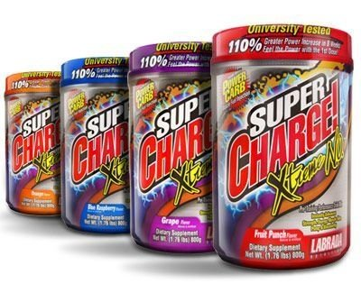 SUPER CHARGE XTREME  800g - LABRADA