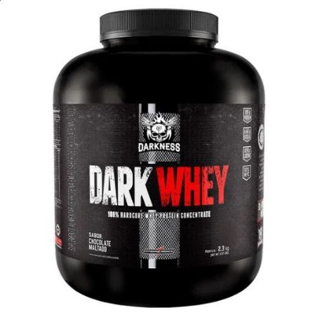 DARK WHEY 100% (2,3Kg) CHOCOLATE MALTADO - INTEGRALMEDICA