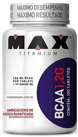 BCAA 1,2G (120 tabs) - Max Titanium