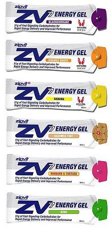 Zipvit ZV7 Energy Gel (unid. 30 e 60 ml) - Zipvit Sport
