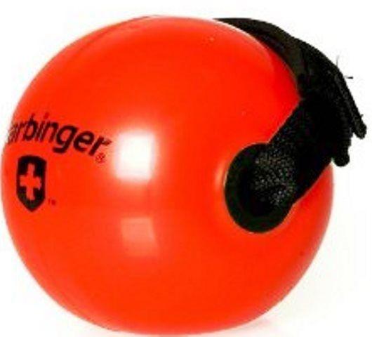 Bola Fitness de Peso c/ Faixa 1,8kg Vermelha - Harbinger