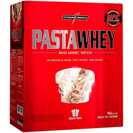 Pasta Whey (Macarrão Gourmet) (400g) - Integral Medica