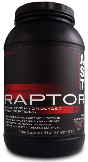 Raptor 1361g HP Beef Protein - AST