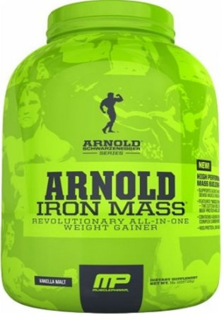 Iron Mass 2,27kg Arnold Series - MusclePharm