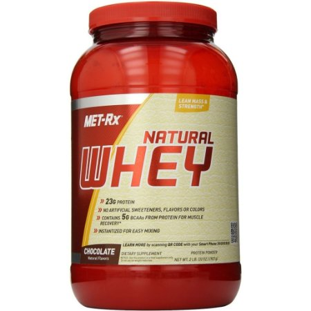 100% NATURAL WHEY PROTEIN 907g - MET - RX
