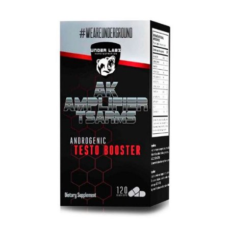 AK AMPLIFIER T-SARMS 120 TABLETS - UNDER LABZ