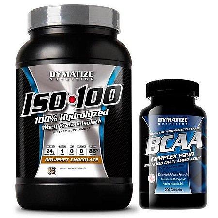 Combo Definição com ISO 100 (726g) + BCAA 2200 (200 caps)
