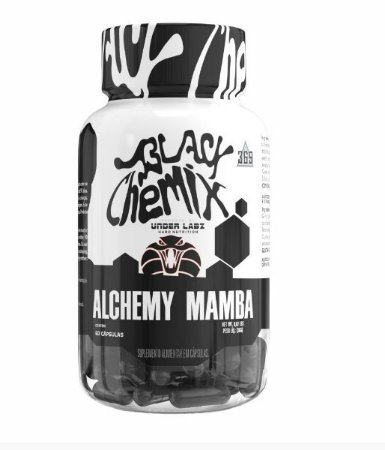 ALCHEMY MAMBA 60 CAPS BLACK CHEMIX BY UNDER LABZ