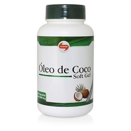 Óleo de coco (60 capsulas) - Vitafor