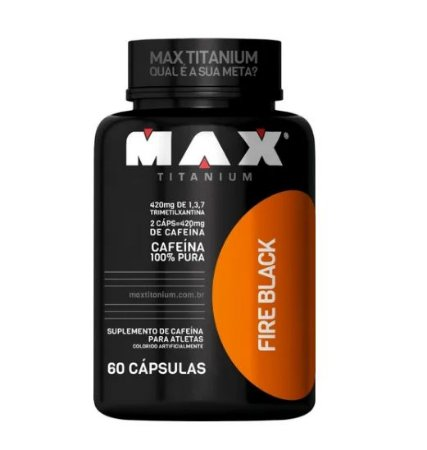 Fire Black 60 Cápsulas - Max Titanium